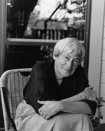 Author Ursula K. Le Guin, Copyright © by Marian Wood Kolisch